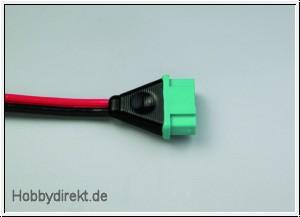 Kabel mit Buchse M6-Stecksystem (1,5mm²) Multiplex 85175
