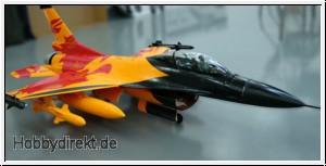 F-16 KIT Holländisches Demoteam 860mm Orange 35259 Sonderposten