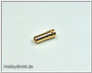 Goldbuchse 3,5mm Pichler C1600