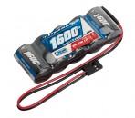 LRP RX-pack Straight - JR 6.0V 1600mAh LRP 430603