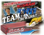NOSRAM LiPo 1S 1:12 6600 X-TREME Hardcase 50C (100C) Thunder Tig