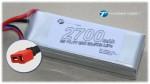 LiPo 3S 2700mAh 11,1V 20C mit US Deans Style Stecker Thunder Tig