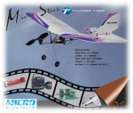 MICRO STICK RTF Ultra-Leicht-Flieger 2.4GHz inkl. LiPo Akku Thun