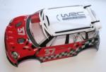 ER4 G3 Karosserie, 1:8 MINI Countryman WRC, fertig Thunder Tiger